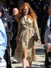 Nicole Kidman The Undoing Cotton Coat