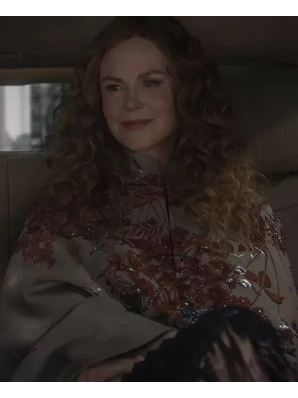 Nicole Kidman The Undoing Embroided Coat