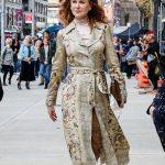 Nicole Kidman The Undoing Floral Coat