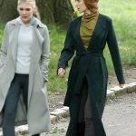 Nicole Kidman The Undoing Green Trench Coat