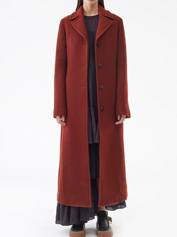 Nicole Kidman The Undoing Red Coat