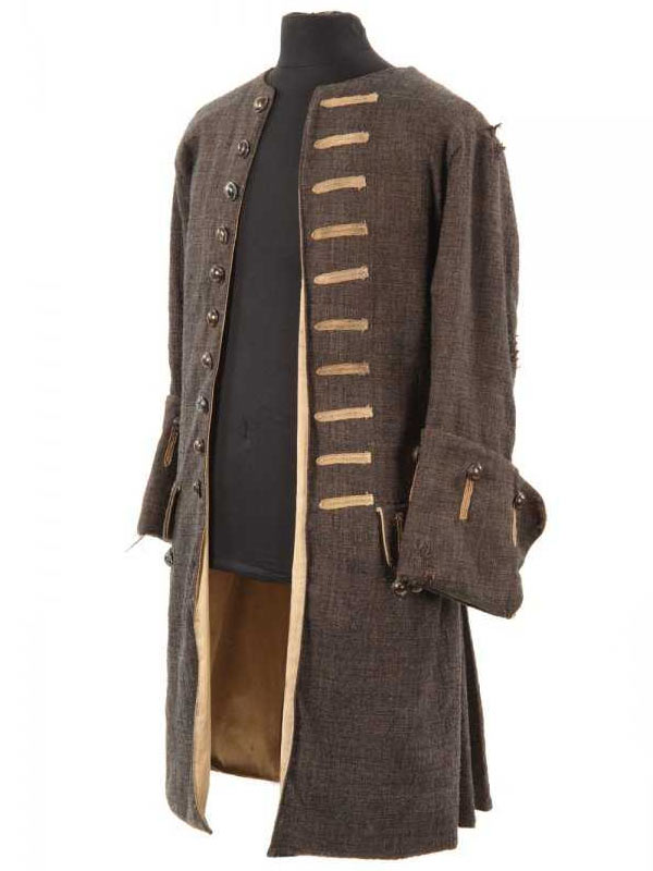 Pirates of The Caribbean Jack Sparrow Wool Coat