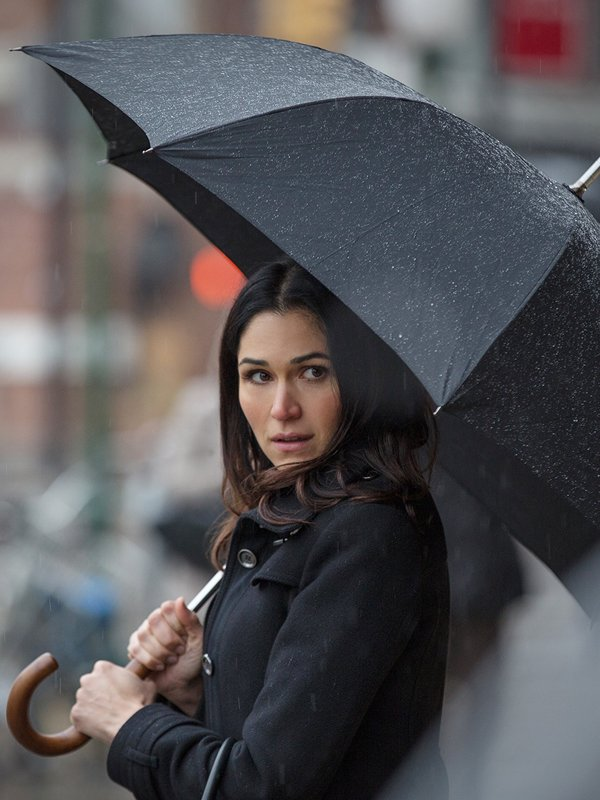Power S02 Lela Loren Wool Black Coat