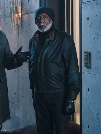 Richard Roundtree Shaft Leather Jacket