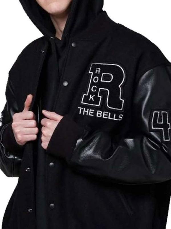 Rock The Bells LL Cool J Black Letterman Varsity Jacket