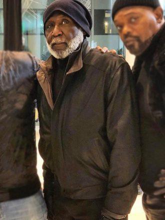 Shaft John Shaft Sr. Black Leather Jacket