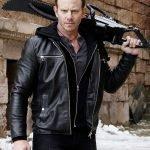 Sharknado 6 Lan Ziering Shepard Leather Jacket