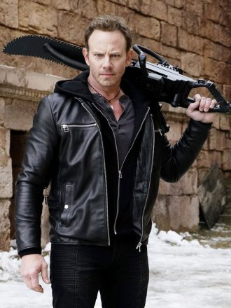 Sharknado 6 Lan Ziering Shepard Leather Jacket
