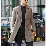 Snatch Luke Pasqualino Wool Coat