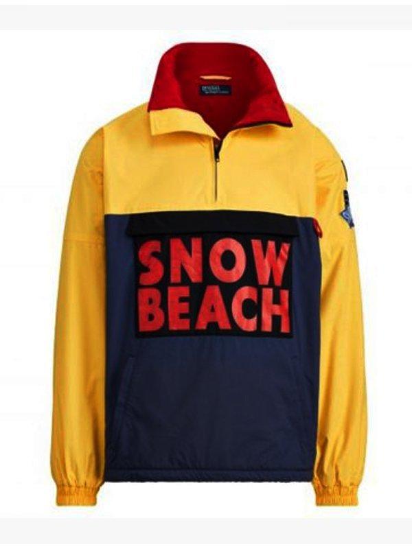 Snow Beach Polo Cotton Jacket