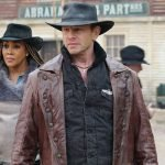 The Last Sharknado It's About Time Fin Brown Trench Coat