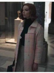 The Queen's Gambit Beth Harmon Wool Coat