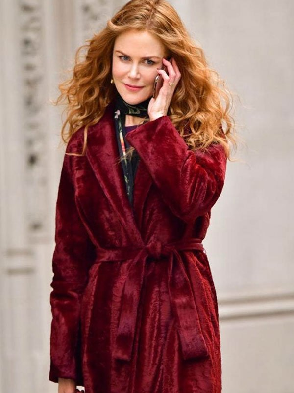 The Undoing Nicole Kidman Red Coat