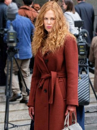 The Undoing Nicole Kidman Wool Coat