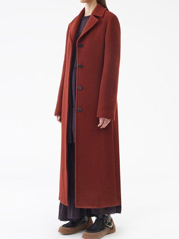 The Undoing SO1 Grace Sachs Wool Coat