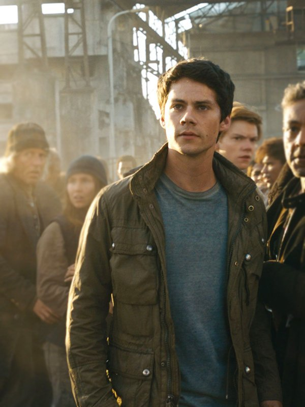 Thomas Maze Runner The Death Cure Dylan O'brien Cotton Jacket