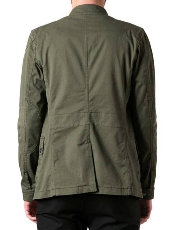 Thomas Maze Runner The Death Cure Dylan O'brien Green Cotton Jacket