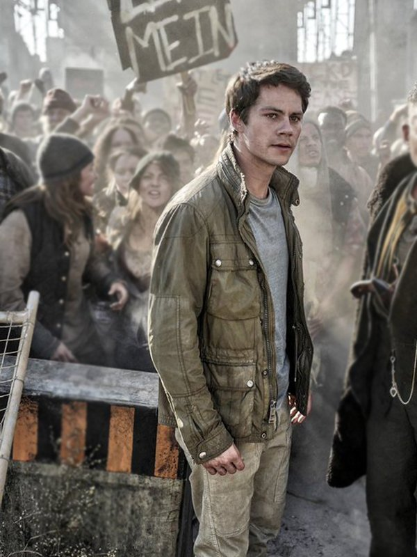 Thomas Maze Runner The Death Cure Dylan O'brien Jacket