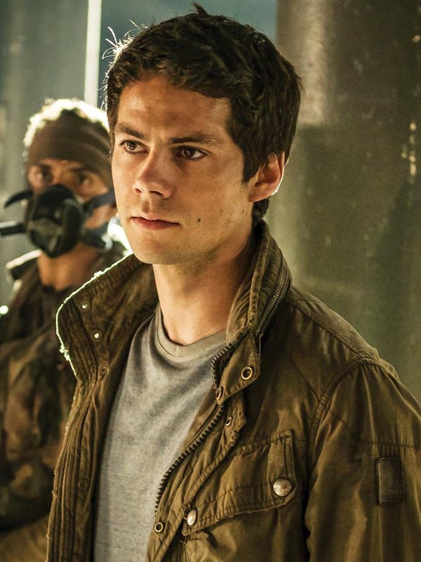 Thomas Maze Runner The Death Cure Dylan O'brien Militry Green Cotton Jacket
