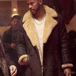 Trevor Jackson Superfly Leather Shearling Coat