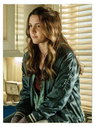 Tv Series Ash vs Evil Dead Arielle Carver-O'Neill Green Bomber Jacket