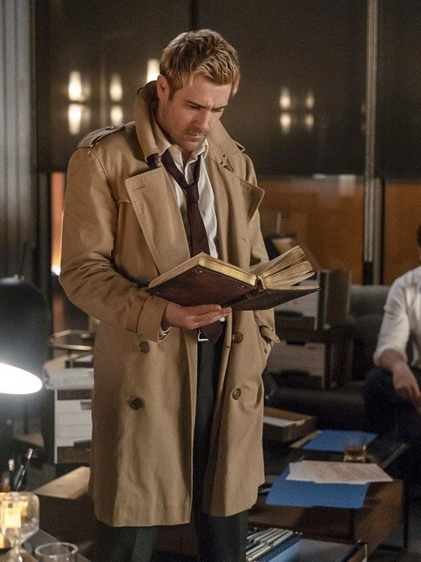 Tv Series Constantine Matt Ryan Trench Coat