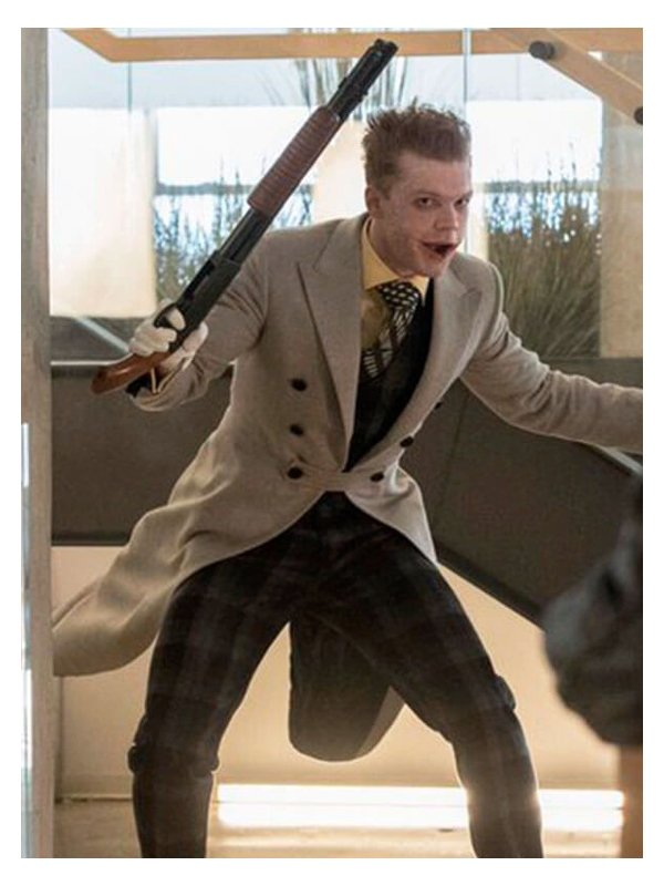 Tv Series Gotham Cameron Monaghan White Trench Coat