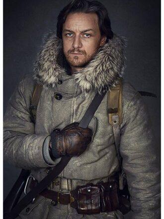Tv Series His Dark Materials James McAvoy White Fur Leather Coat
