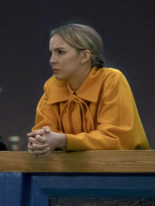 Tv Series Killing Eve S03 Villanelle Yellow Long Coat