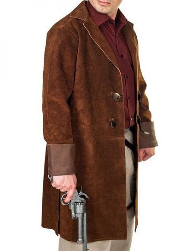 Tv Series Nathan Fillion Firefly Malcolm Reynolds Brown Trench Coat