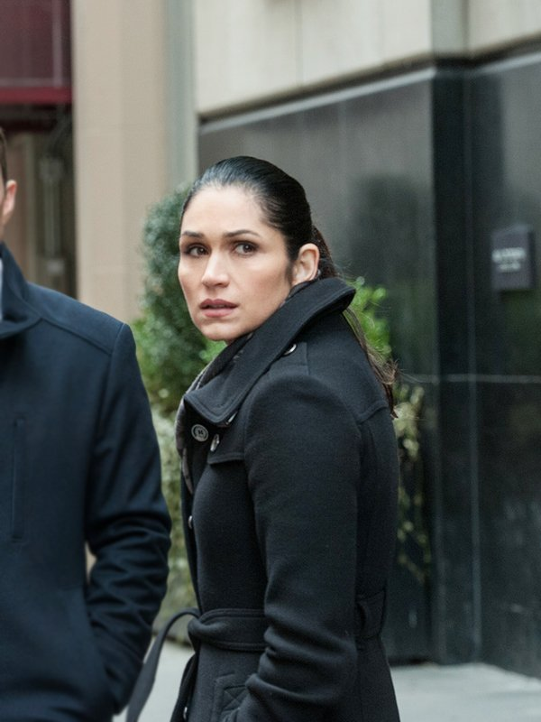 Tv Series Power S02 Lela Loren Black Wool Coat