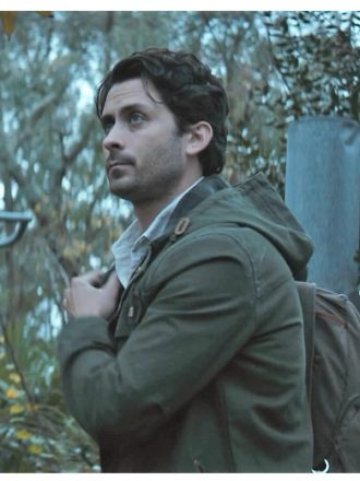 Tv Series Swamp Things Andy Bean Green Cotton Jacket