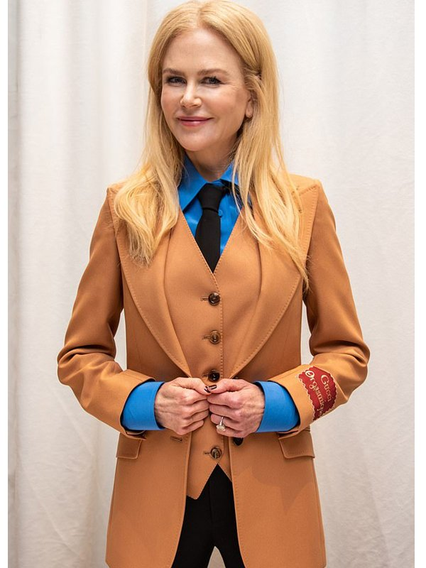 Tv Series The Undoing Grace Sachs Brown Wool Suit