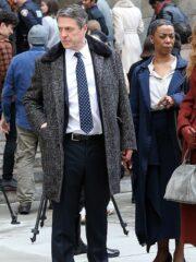 Tv Series The Undoing Jonathan Sachs Grey Trench Coat