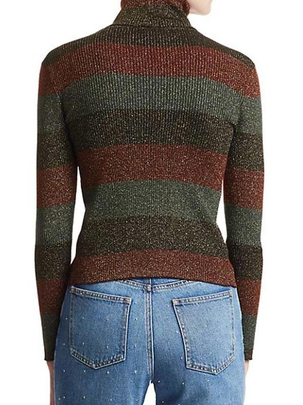 Tv Series The Undoing Nicole Kidman Turtleneck Striped Sweater