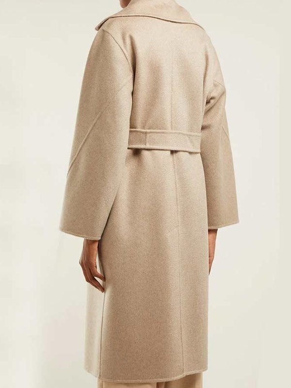 Tv Series The Undoing Sylvia Steineitz Beige Wool Coat