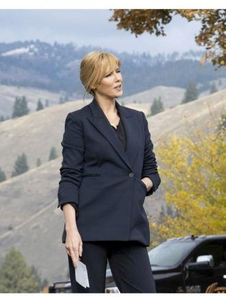 Yellowstone S03 Kelly Reilly Blazer