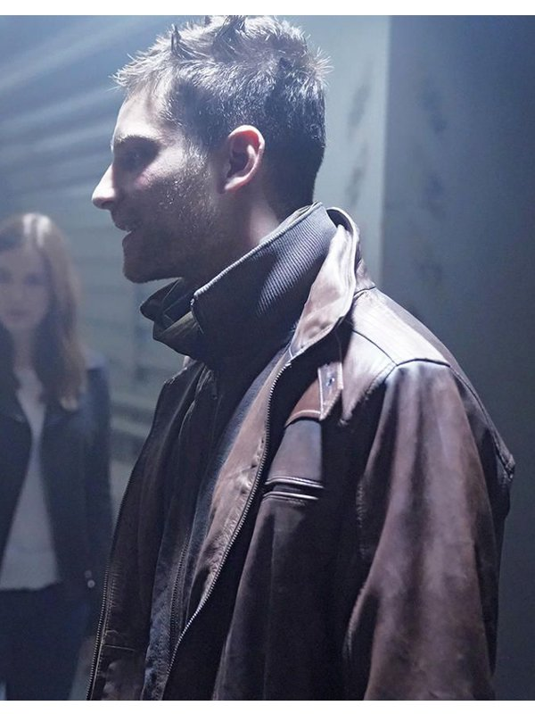 Agents Of Shield Deke Shaw Brown Jacket