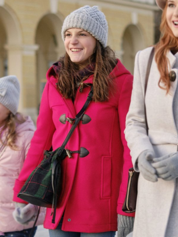 Allegra Tinnefeld Christmas In Vienna Pink Coat