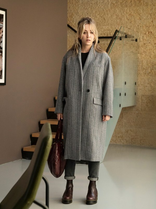 Cassie Bowden The Flight Attendant Trench Coat