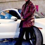 Dwayne Johnson Red Notice Leather Coat