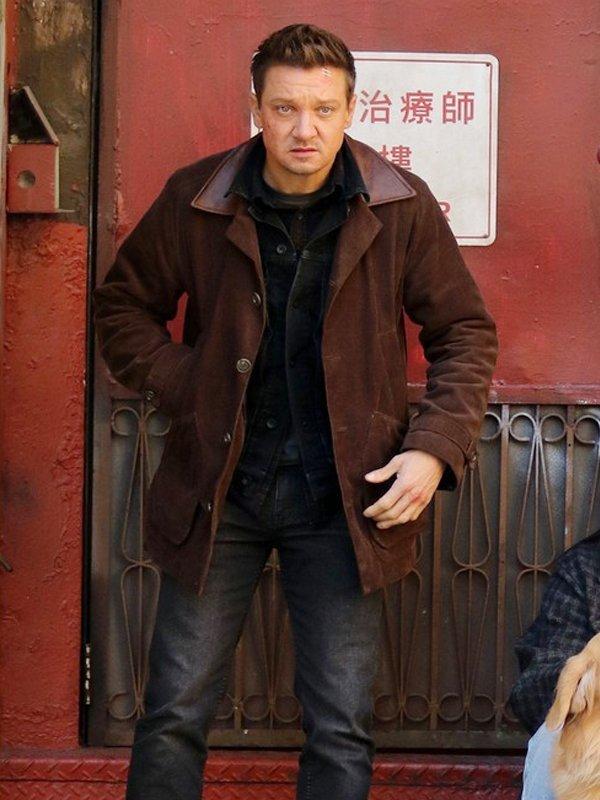 Hawkeye Clint Barton Brown Jacket