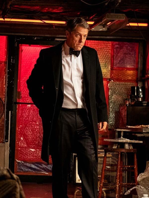 Hugh Grant The Undoing Black Coat
