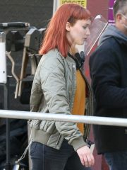 Jennifer Lawrence Don't Look Up Kate Dibiasky Quilted Jacket