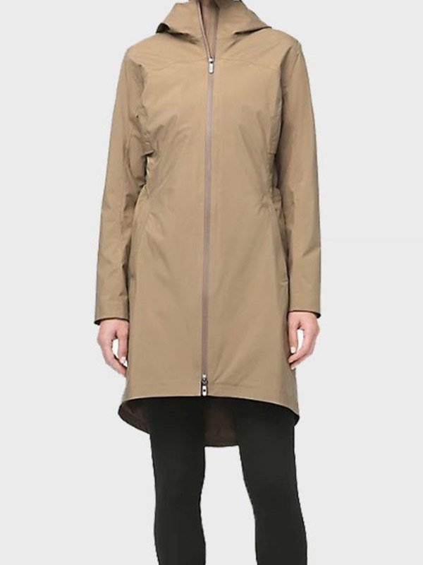 Melinda Monroe Virgin River S02 Beige Cotton Coat
