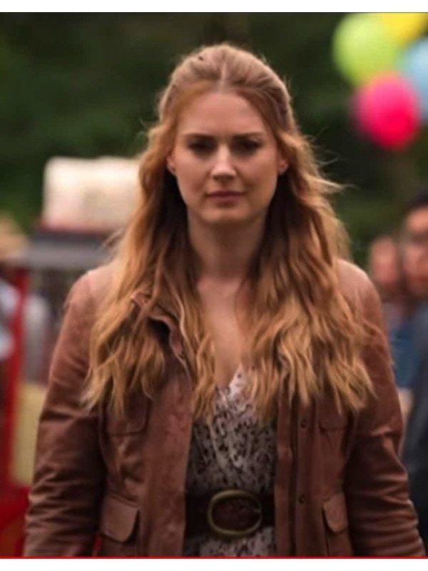 Melinda Monroe Virgin River S02 Brown Leather Jacket