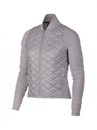 Melinda Monroe Virgin River Season 02 Grey Quilted Jacket