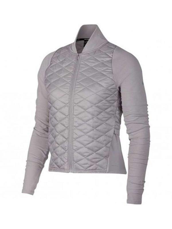 Melinda Monroe Virgin River Season 02 Grey Quilted Jacket