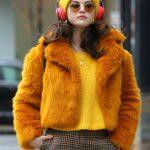 Only Murders in the Building Selena Gomez Fur Jacket
