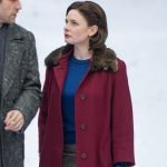 Rebecca Ferguson Despite The Falling Snow Coat